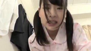 Jav Idol Fingered And Fuck In Her PJs Amazing Teen Butt Flat chested Babe