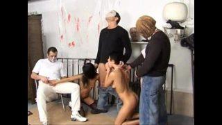 scary sex movie escena final Monella y Ana